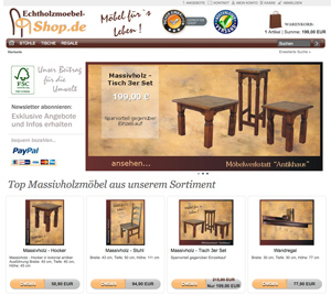 echtholzm bel shop service tested. Black Bedroom Furniture Sets. Home Design Ideas